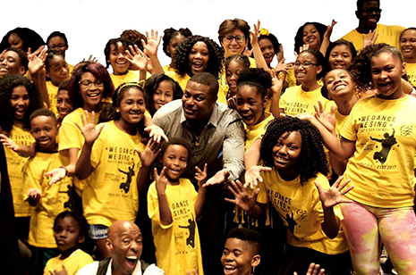 Chris Tucker With Kids From Camp Spotlight