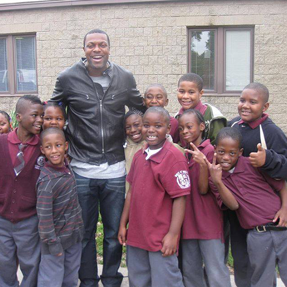 Chris Tucker With Youth
